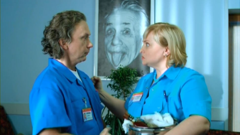 Интерны 9 серия – фото момента из 9 серии 1 сезона сериала Интерны